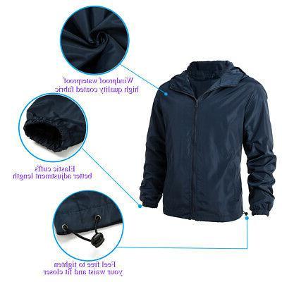 Men Zipper Casual Outwear Coat