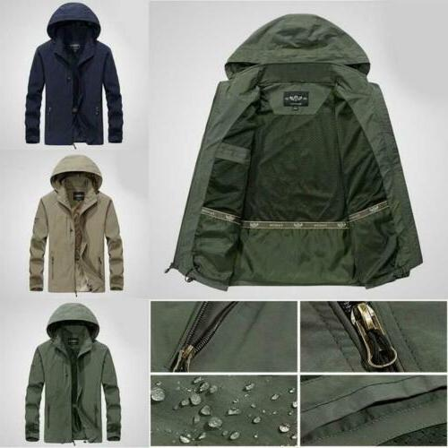 Mens Hooded Outwear