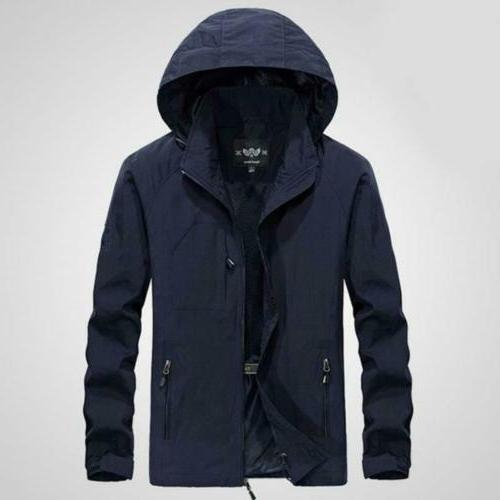 Mens 2019 Hooded Outdoor