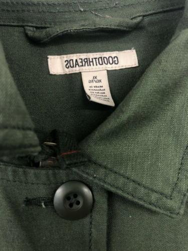Goodthreads Mens 4-Pocket Jacket, XL