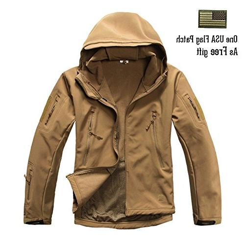 ReFire Mens Army Special Ops Jacket Fleece Hooded Outdoor