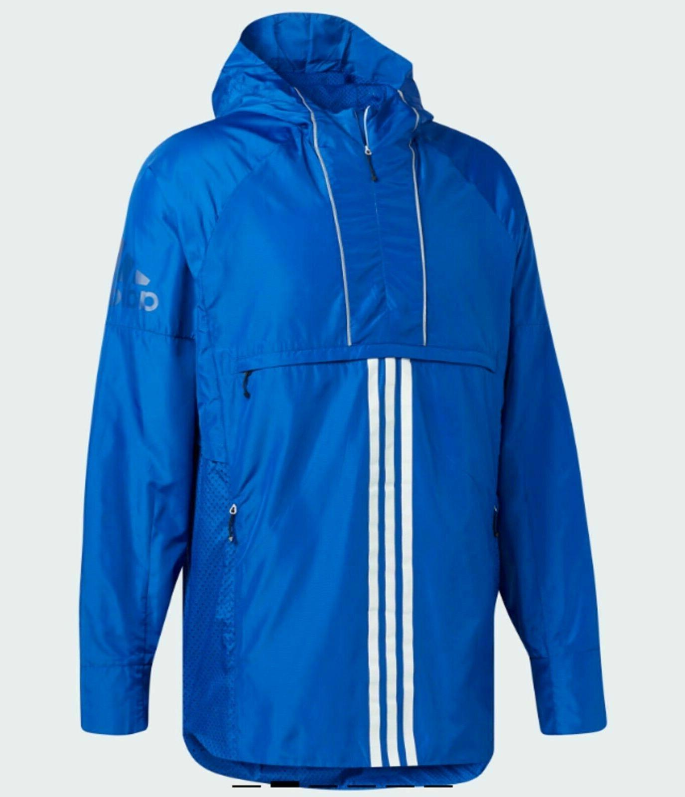 mens athletics id woven anorak cv3269 royal