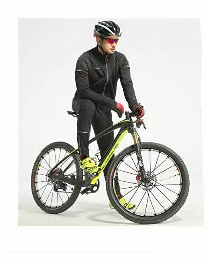 Mens 4ucycling Windproof Full Stretch Cycling Jacket