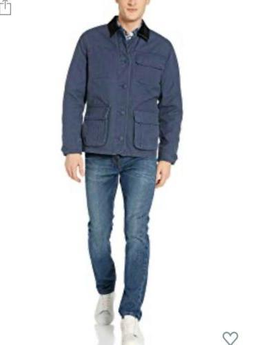 Mens Goodthreads Blue Large Barn Jacket Coat