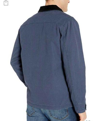 Mens Blue Barn Coat