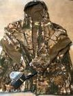Mens Camo Zip Up Hooded Jacket Real Tree Xtra