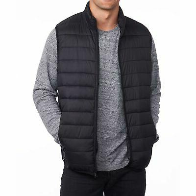 mens down alternative vest jacket lightweight packable
