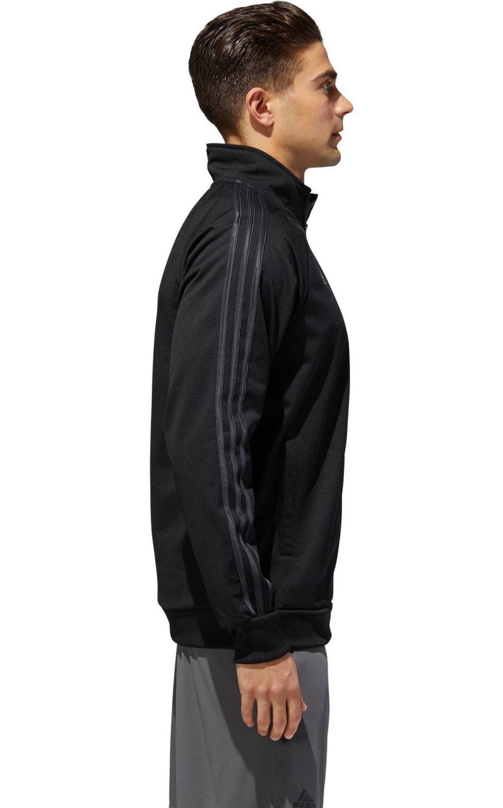Mens Jacket Black Zip Long Sleeve Shirt L-XXL