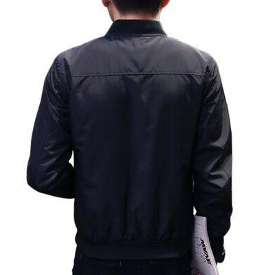 Mens Fashion Jacket Warm Winter Baseball Coat