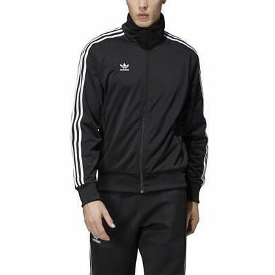 mens firebird track jacket black dv1530