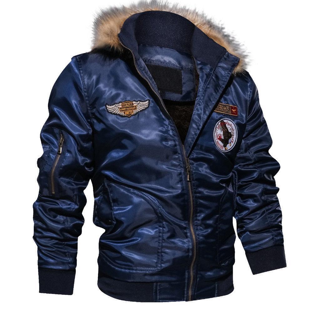TACVASEN Mens Winter Coats Airborne Military Jackets