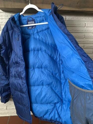 Outdoor Belay Jacket Down Hooded
