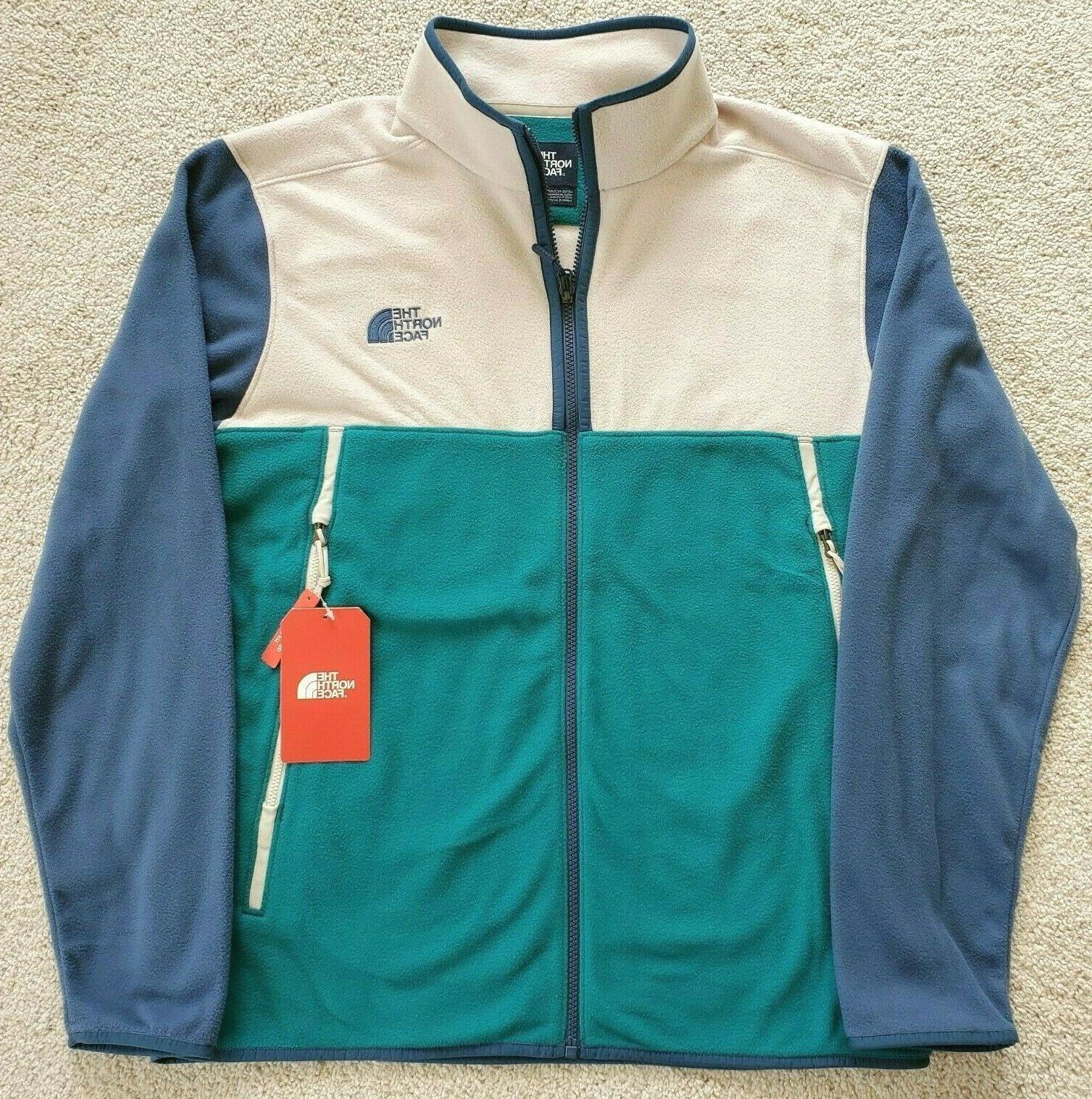 mens glacier alpine full zip large jacket
