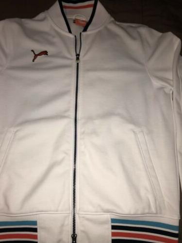 Puma New Tennis Soccer Small Up White