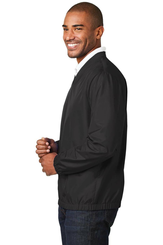 Mens Zephyr V-Neck Pullover Golf Jacket