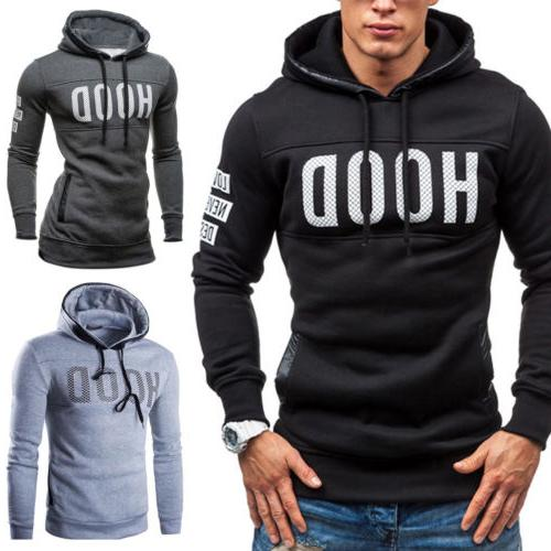 Mens Jumper Coat Letter Sweater Sweatshirt