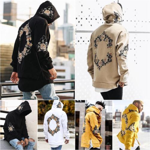 Mens Hoodies Coat Jacket Print