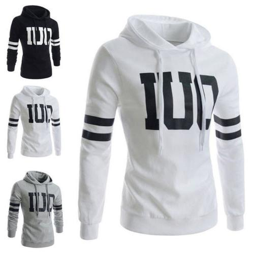 Mens Pullover Jacket Tops Hop Casual