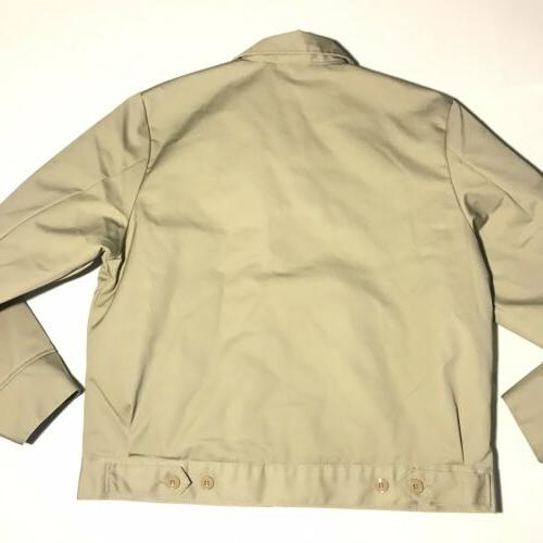 Dickies Mens Eisenhower Jacket Style #TJ15 Khaki Large
