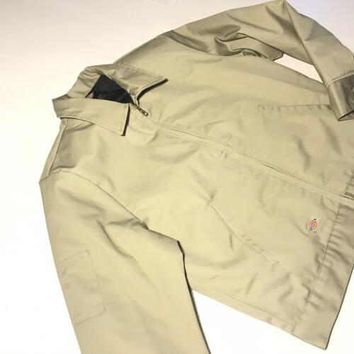 Dickies Eisenhower Jacket Khaki Large