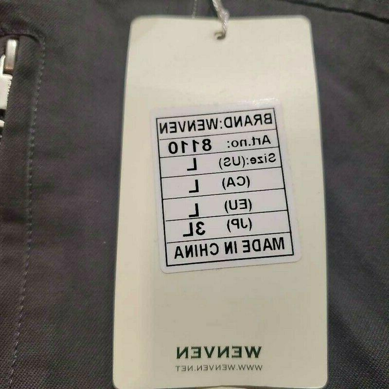 Wenven Zipper 100% Cotton New