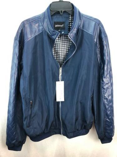 mens jacket size xl blue nwt