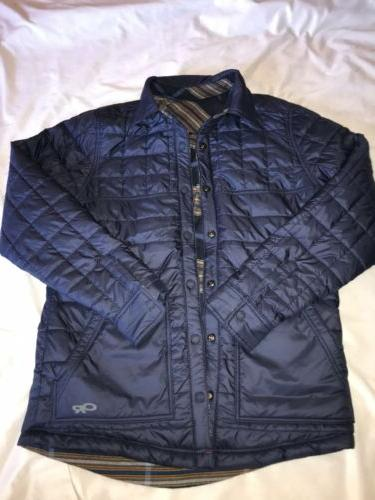 mens kalacoch reversible jacket sz m new