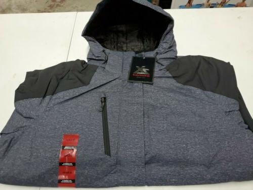 Men's ZeroXposur Midweight Coat Jacket SZ XL SLT STATIC St