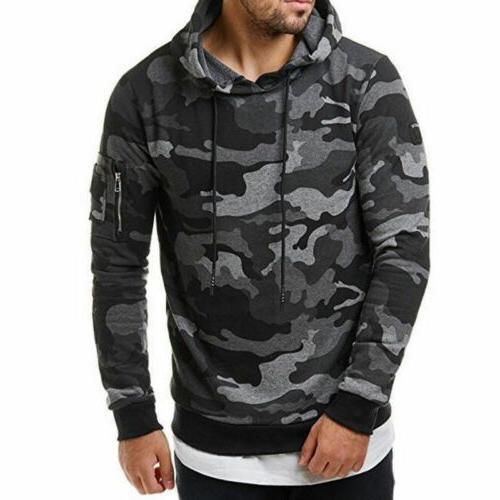 Mens Sweater Hoodie Sweatshirts Casual