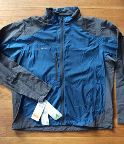 mens mt logan jacket titanium performance lightweight