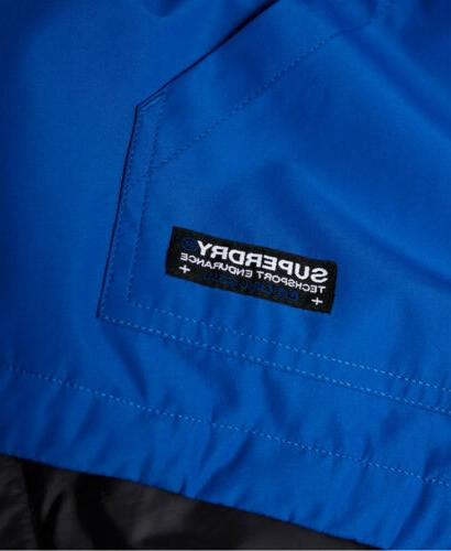 Mens SD-Windcheater Jacket Electric Blue