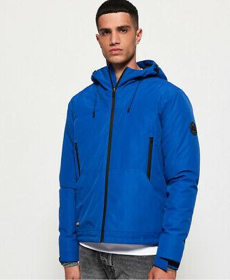 mens padded elite sd windcheater jacket electric