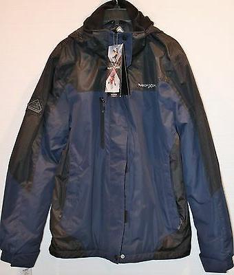 ZeroXposur Mens Performance S Small Hooded Jacket Coat