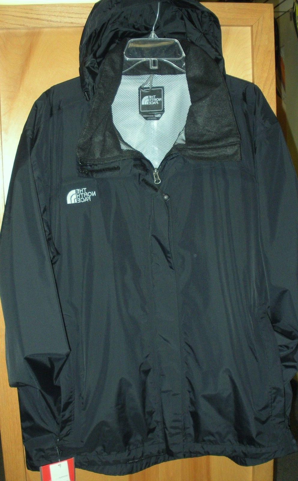 mens resolve 2 waterproof jacket tnf black