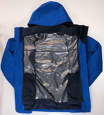 Columbia S-M-L-XL Trip II Interchange 3 In Removable Fleece