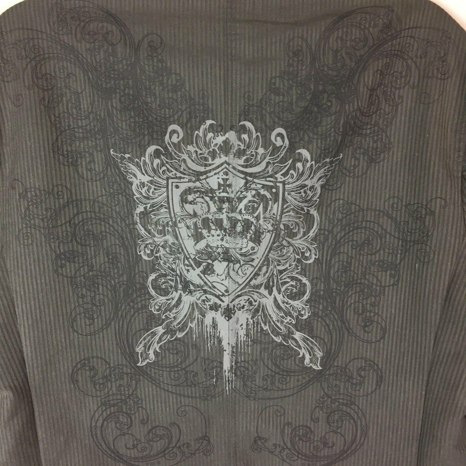 Pop Large Jacket NWT Fashion Decal & Embroidery