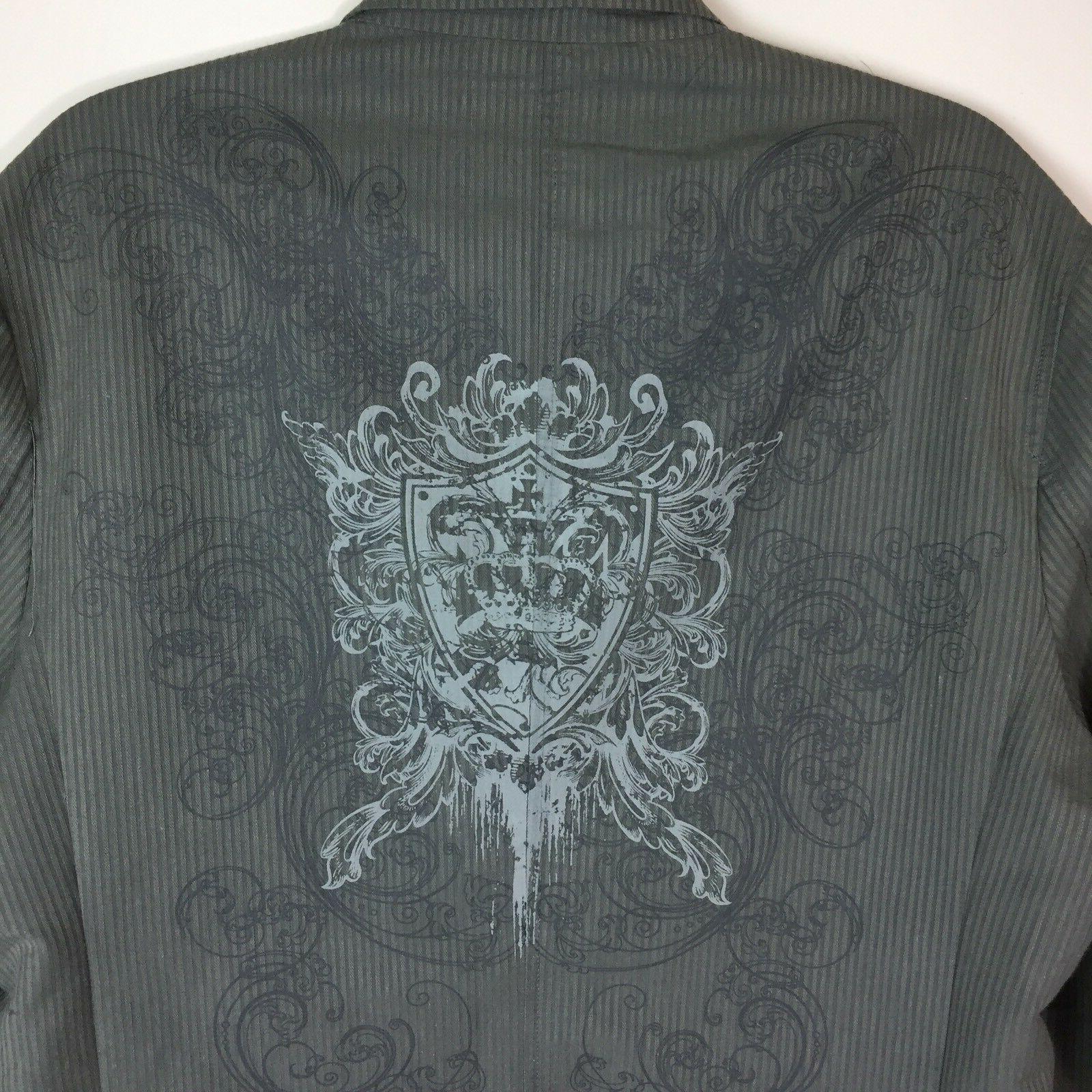 Pop Icon Men's Size Large Cotton NWT Fashion & Embroidery