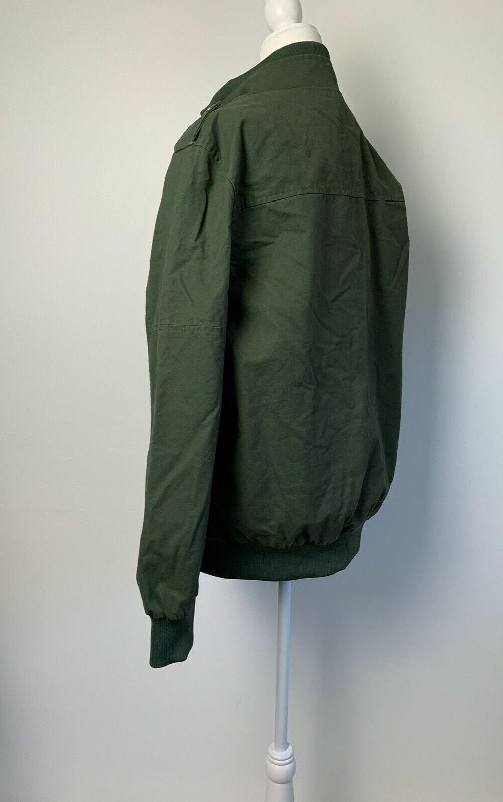 Chouyatou Jacket Lined Army Zip NWT