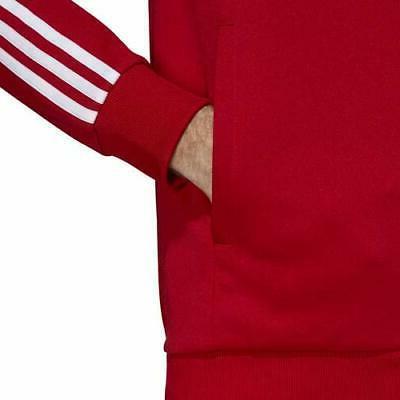 Mens adidas Track Jacket - Red - DV1514