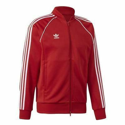 mens sst track jacket red dv1514