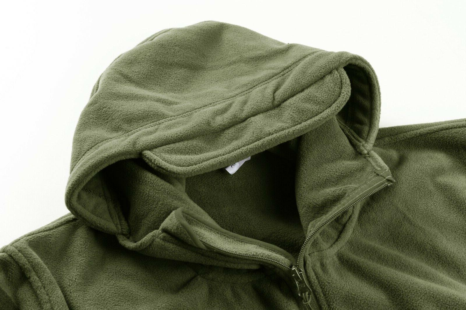 Fleece Jackets Tactical Hooded Coats