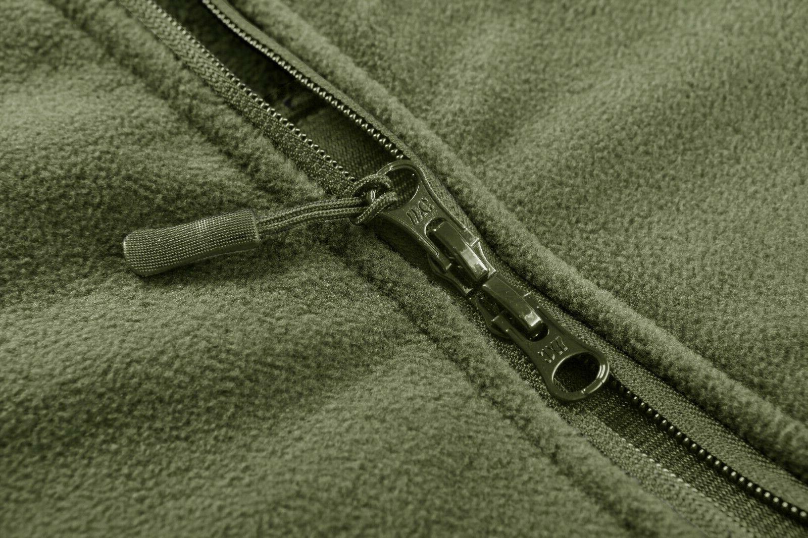 Fleece Jackets Military Hooded Coats