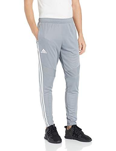 mens tiro19 training pants grey white x