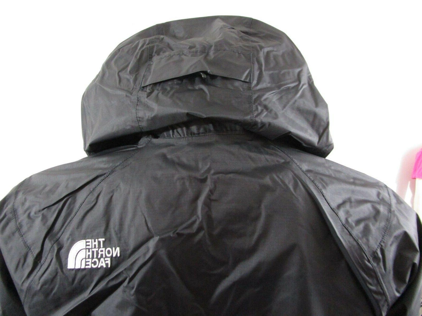 Mens TNF Face Boreal Dryvent Waterproof Hooded Black