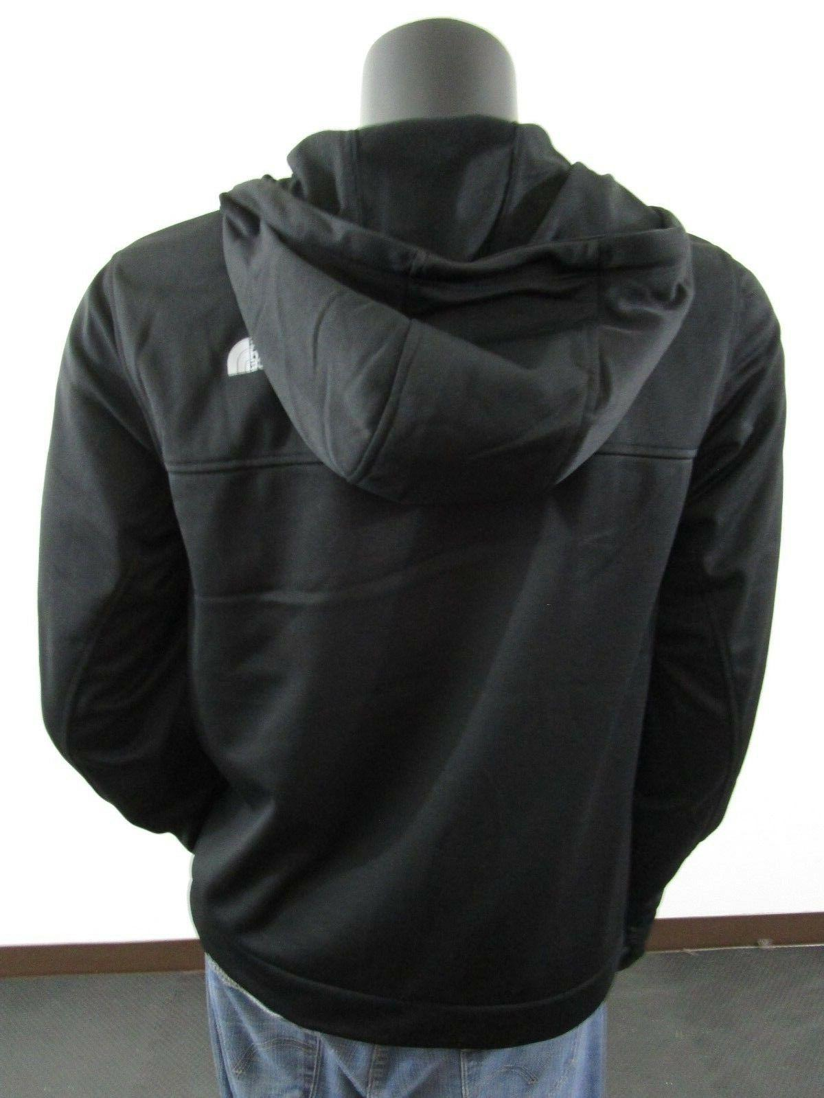 Mens Face Hoodie Tenacious Jacket Black