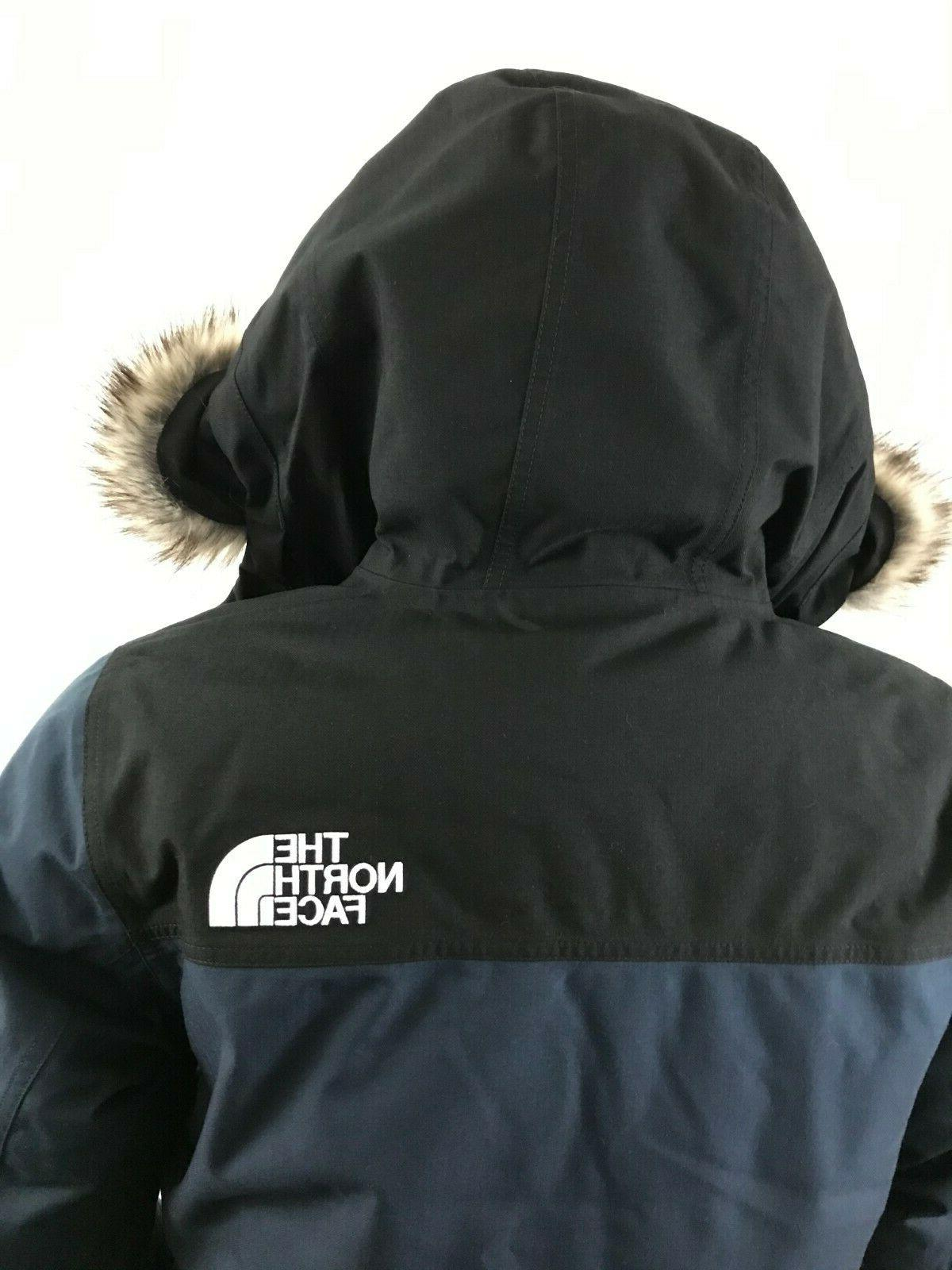 Mens North Face Insulated Jacket Navy