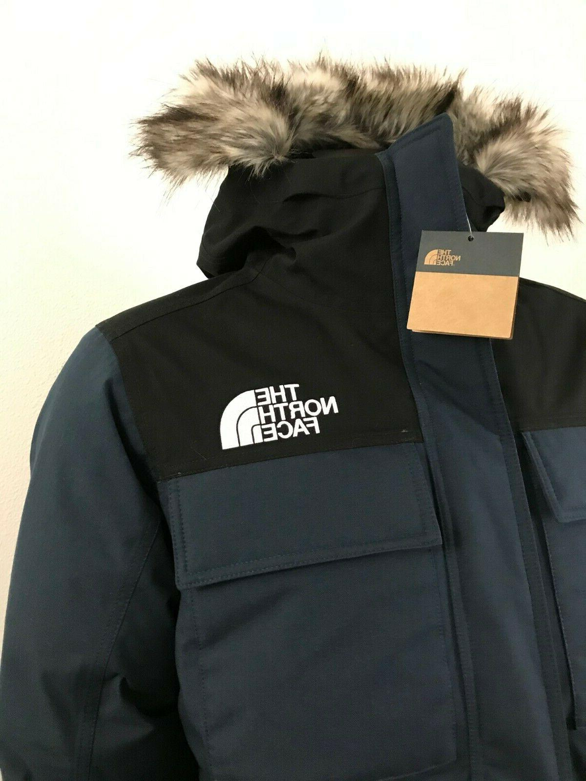 Mens Face Gotham 550-Down Insulated Navy