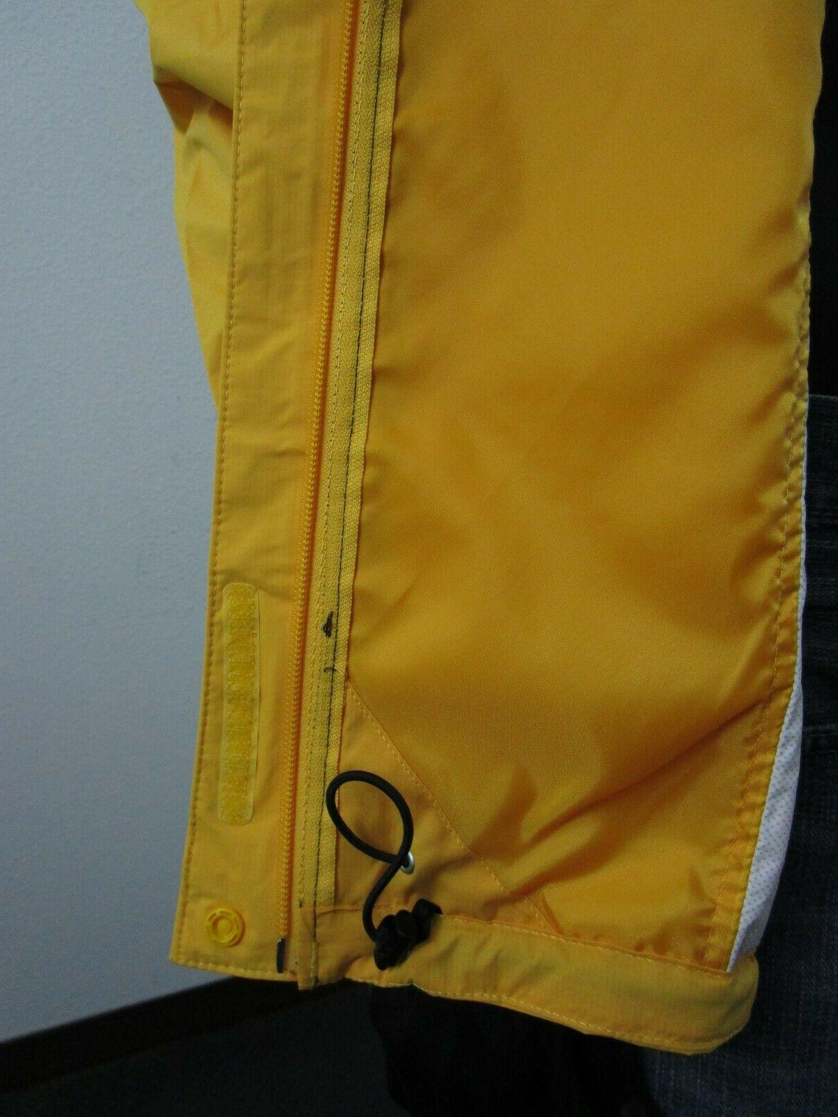 Mens Face Venture Dryvent Hooded Yellow