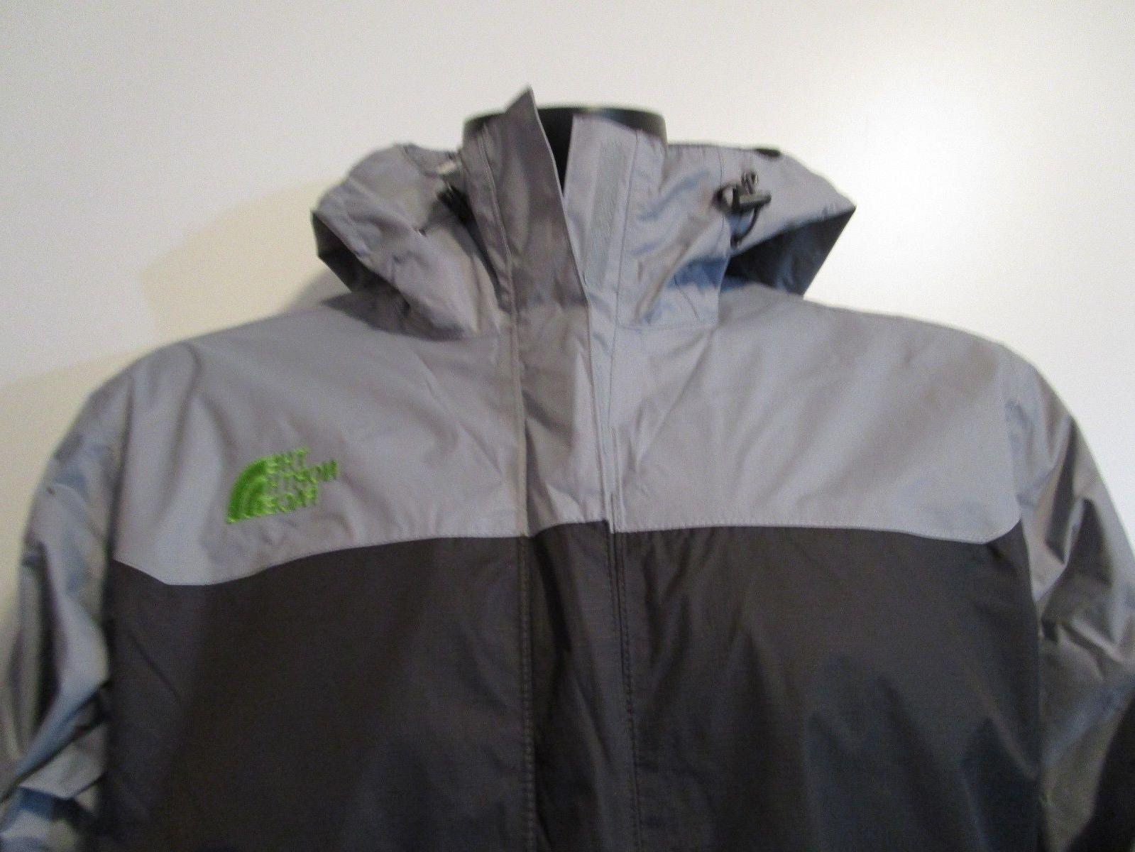 Face Venture Dryvent Hooded Rain Jacket Grey