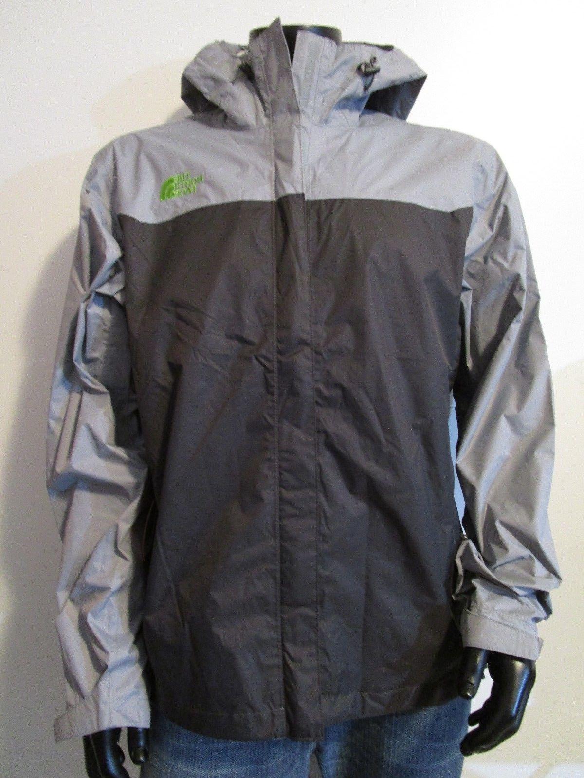 Mens Face Venture Dryvent Waterproof Hooded Rain - Grey